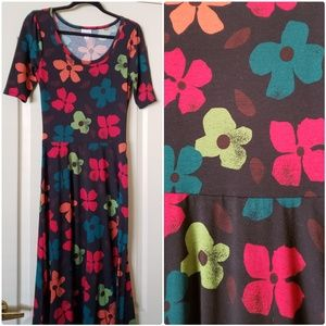 Ana lularoe dress size S floral
